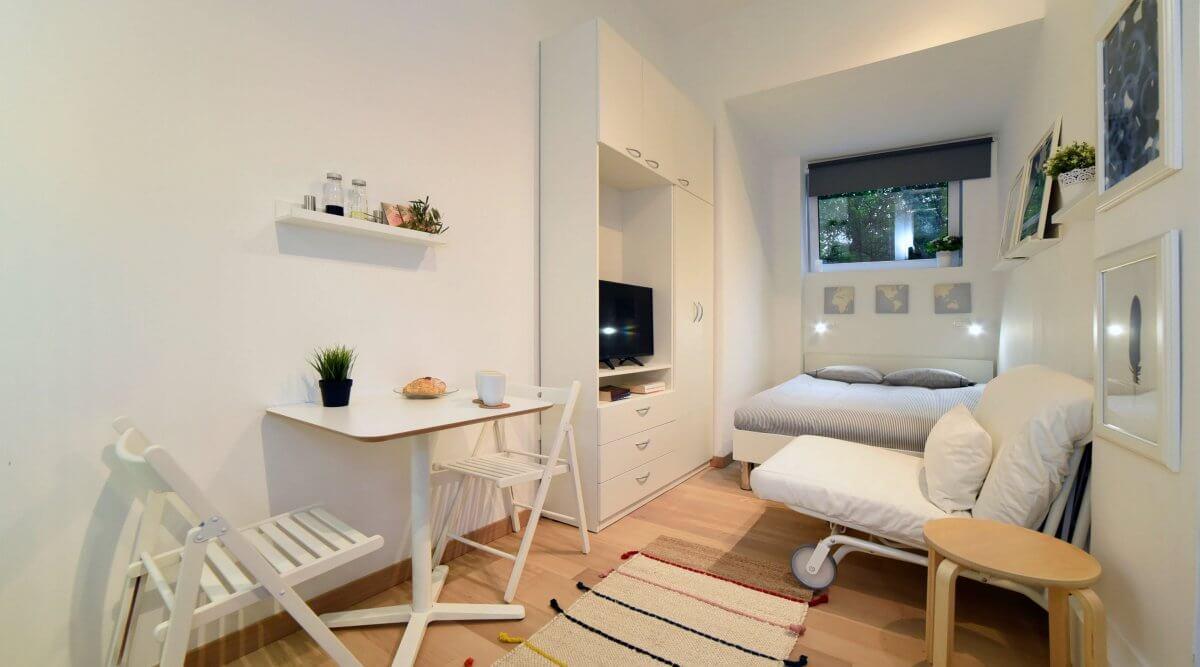 Studio Apartment für die tägliche Miete